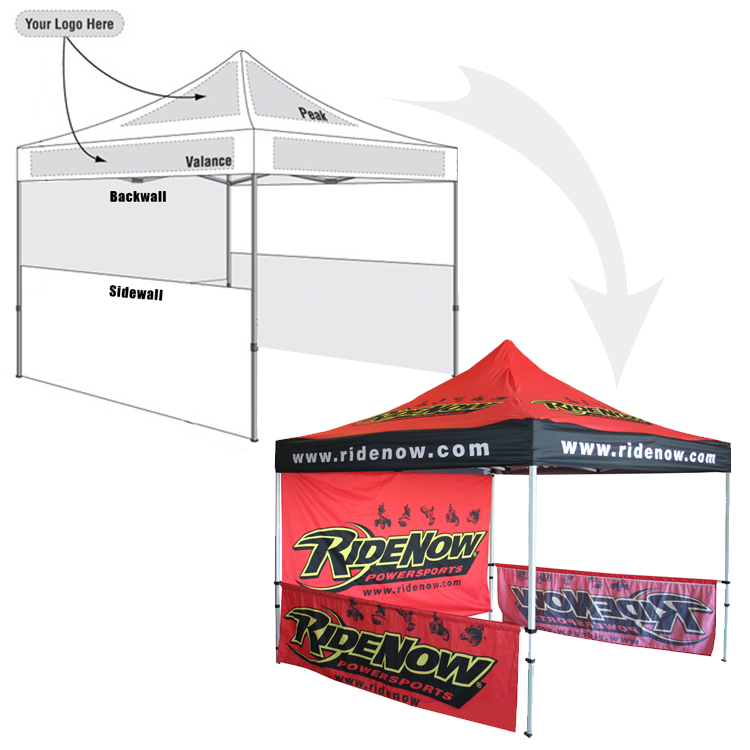 sc 1 st  Active Print Media & Custom Pop Up Tents u0026 Event Canopies | 10x10 Tent Starting at $649