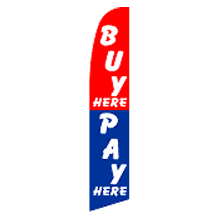 Buy Here: Buy Here Pay Here Super Flag