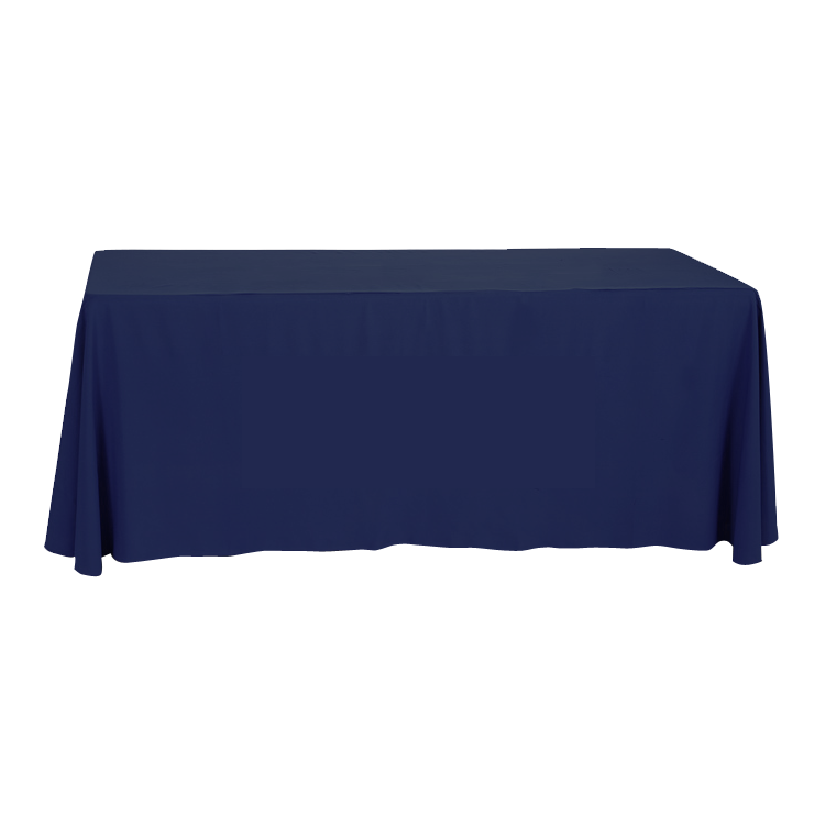 Table throws draped custom printed in full color 209 for Table th row
