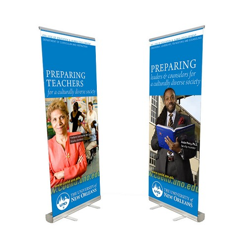 Custom Printed Banner Retractable Stand Perfect